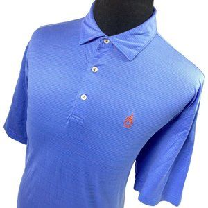 PETER MILLAR 1896 Aronimink Golf Club Blue Polo XL